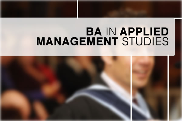 BA in Applied Management Studies