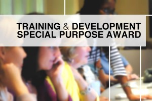 Training & Development - Special Purpose Award