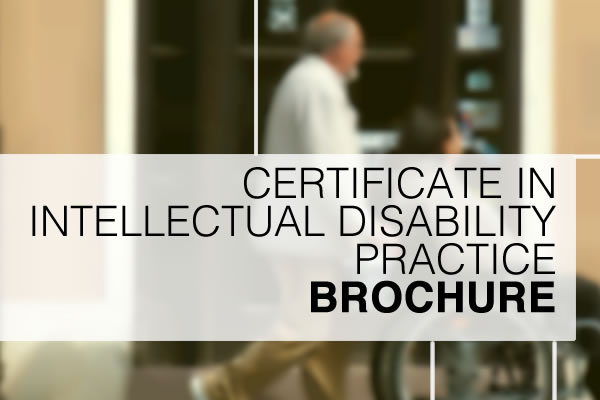 Certificate in Disability Practice Brochure