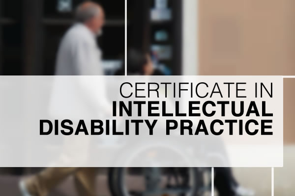 Certificate in Intellectual Disability Practice