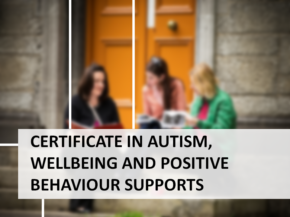 Certificate in Autism, Wellbeing and Positive Behaviour