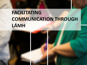 Facilitating Communications through Lamh