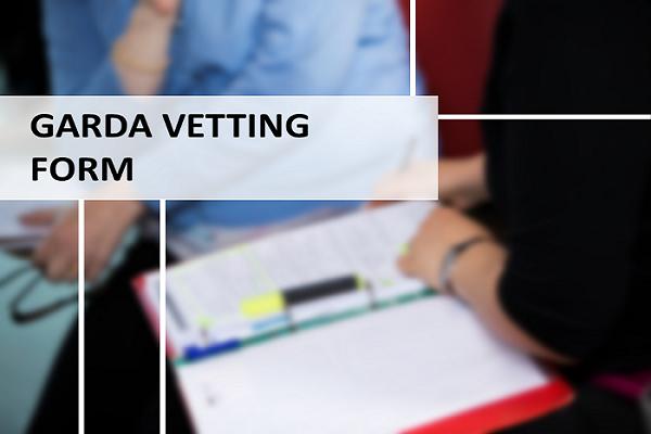 Garda Vetting Form